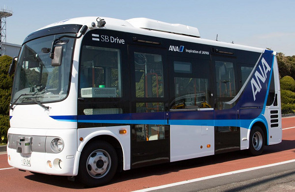 ANA to Test Driverless Bus Technology At Haneda Airport