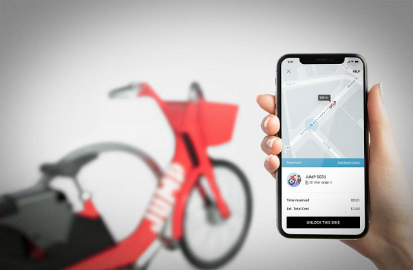 Uber's bikesharing service is eating into its regular business