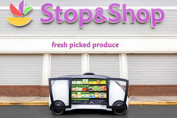 Stop & Shop is testing self-driving mini grocery stores