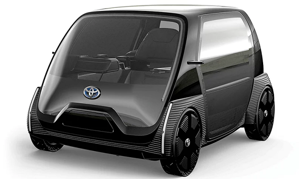 Toyota expects to introduce an ultracompact, two-seat EV in Japan in 2020.
