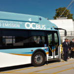 Orange County unveils 10 new fuel-cell-electric buses along with debut of US' largest public transport hydrogen fueling station
