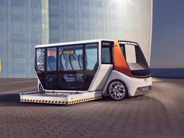 Rinspeed MetroSnap is a driverless EV with a detachable body