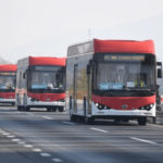 Santiago de Chile receives 150 new BYD buses