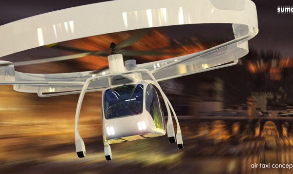UAVOS presents concept SumoAir urban air taxi