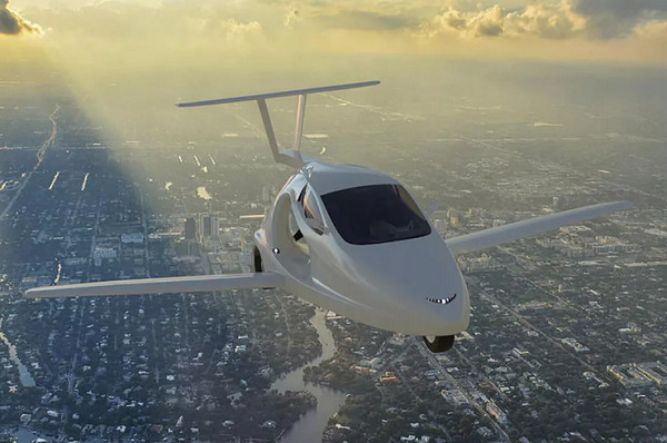 New Hampshire is first state to allow flying cars on the road
