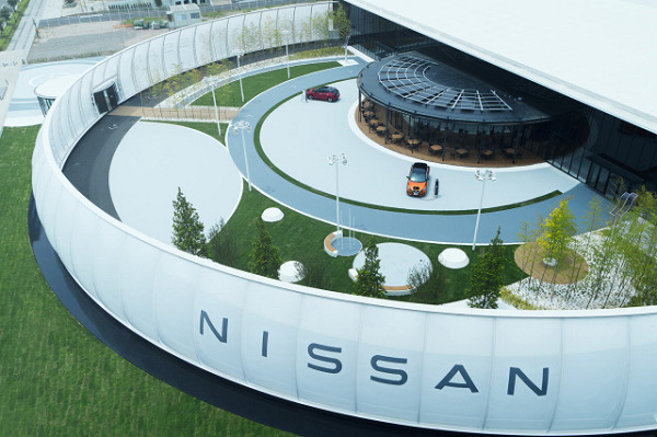 Your EV's electricity can pay for parking at Nissan's new exhibition