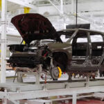 Rivian R1T Electric Pickup Trucks Are Slowly Rolling Off The Production Line