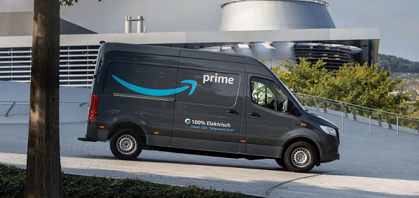 Amazon orders over 1,800 electric vans from Mercedes-Benz