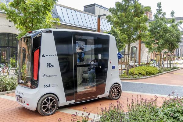Tallinn's new self-driving bus emerged from a university robotics course