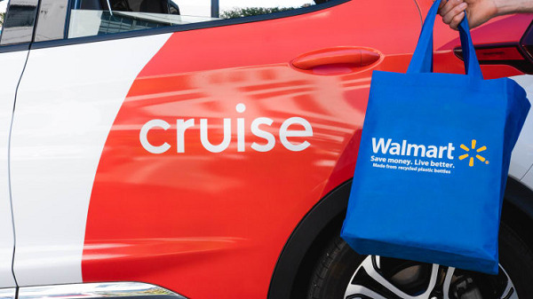 Walmart to test deliveries by self-driving car with General Motors' Cruise