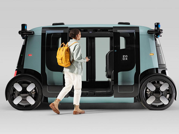 Amazon-Owned Self-Driving Taxi Zoox Reveals Its Secret Vehicle