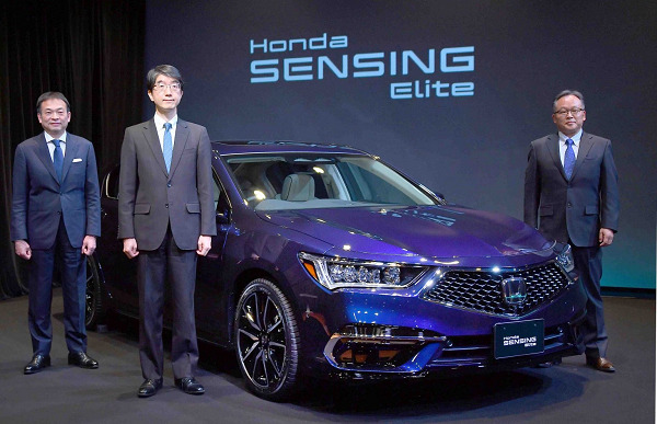 Honda Launches World's First Level-3 Self-driving Car