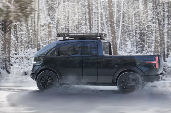Canoo reveals a bubbly electric pickup truck