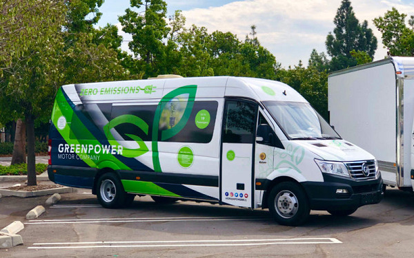 """GreenPower lands first sale of """"hands-free"""" wirelessly charged minibuses"""