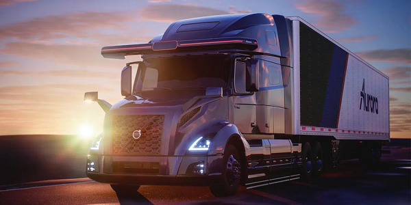 Volvo partners with Aurora to develop autonomous Class 8 trucks