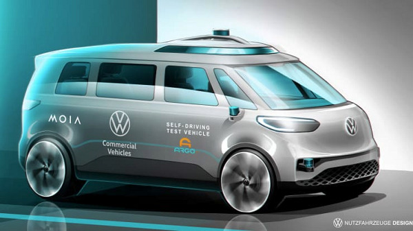 Volkswagen plans self-driving electric microbus with Argo AI by 2025