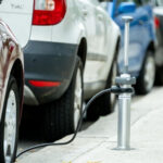 London is getting slick EV chargers that vanish from sight when not in use