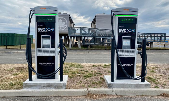 NYC unveils plan to build one of the largest electric vehicle charging networks in U.S.