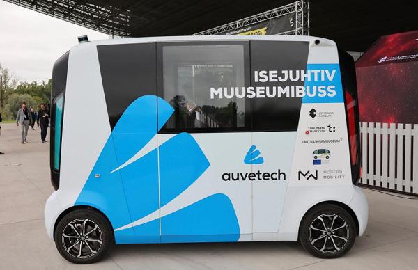 Tartu trials self-driving bus