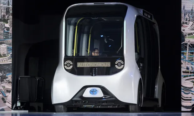 Toyota pauses Paralympics self-driving buses after one hits visually impaired athlete